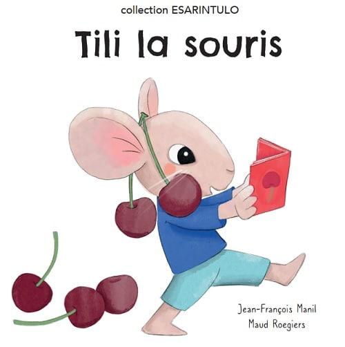 livre pour enfant avec une souris